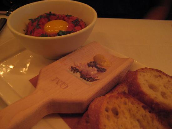 Quality Meats: Steak tartare