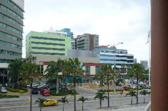 Guayaquil's booming area