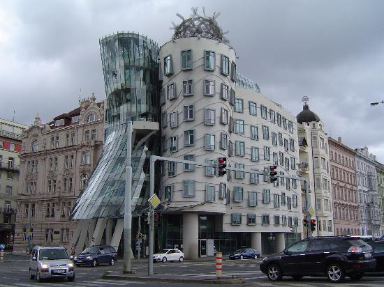 the dancing house fred and ginger nearby the hotel