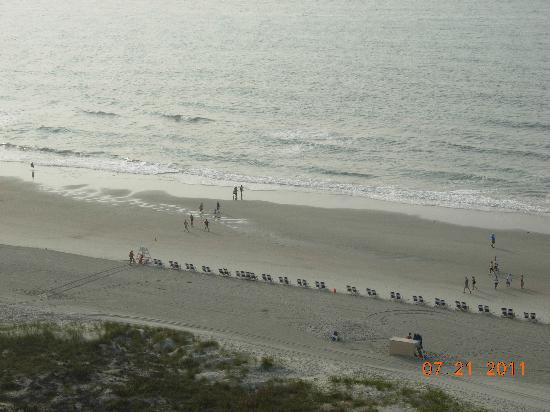 Embassy Suites by Hilton Myrtle Beach-Oceanfront Resort: View from our non-pool view.