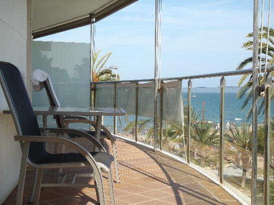 Hotel Calipolis: room terrace
