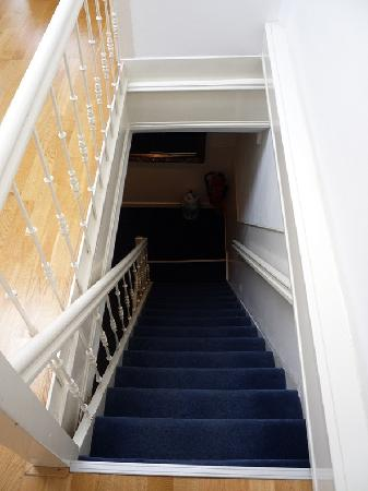 Bed & Breakfast Adriaen van Ostade: Staircase