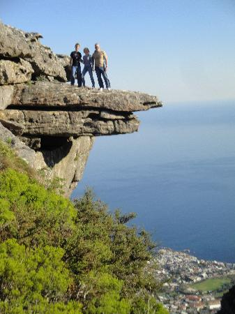 Table Mountain Walks: Old cableway station - Table mountain