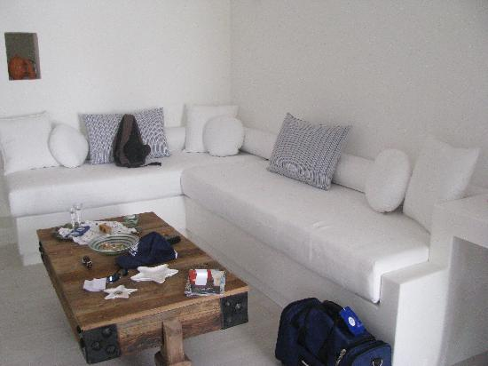 Villa Marandi Luxury Suites: Our room at the Villa
