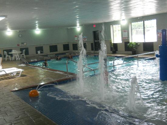 Best Western Plus Portage Hotel & Suites: the pools