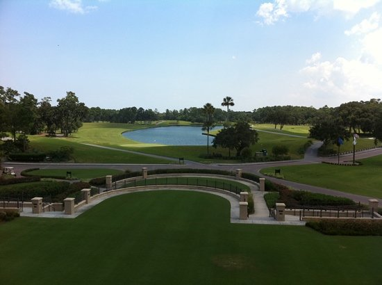 TPC at Sawgrass Stadium Course : view from the clubhouse