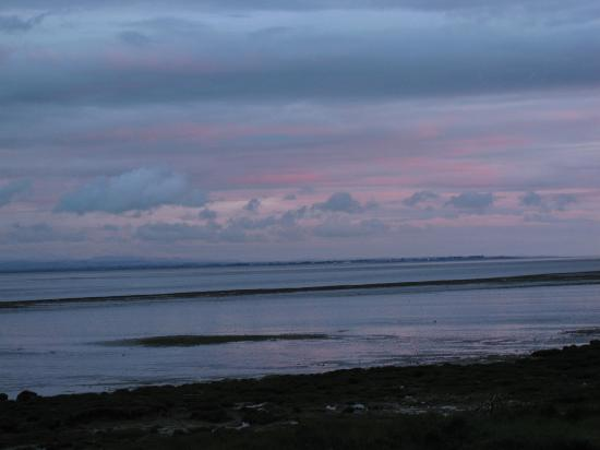 Powfoot Golf Hotel: solway firth at sunset
