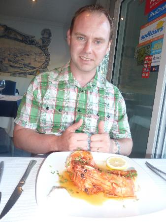 Dom Capito: Mouth watering prawns!