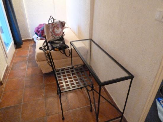 Hotel du Portalet : Tisch