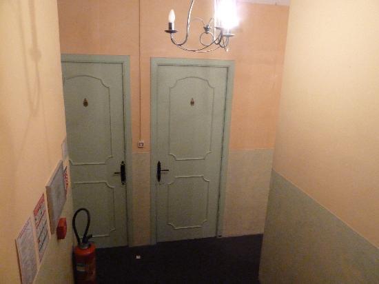 Hotel du Portalet : Gang