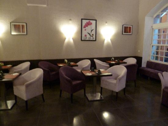 Hotel du Portalet : Fruehstuecksraum