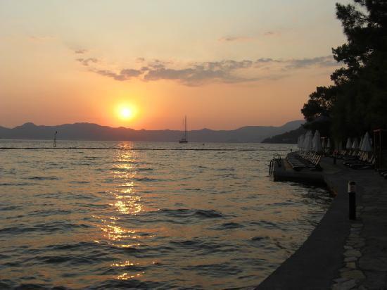 TUI BLUE Marmaris: Sunset on the day we arrived