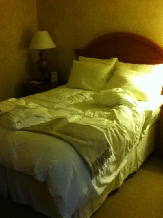 The Manhattan Club: sleeping area