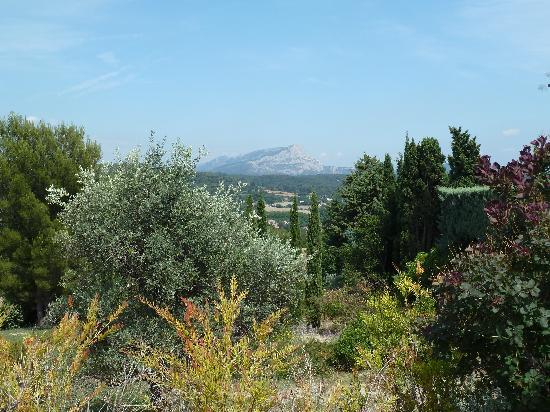 Terrain des Peintres (Painters  Park) : Blick auf den Berg