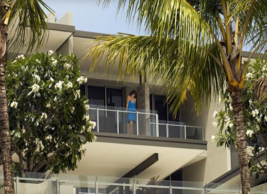 Coconut Grove Apartments: Balcony  Apartment