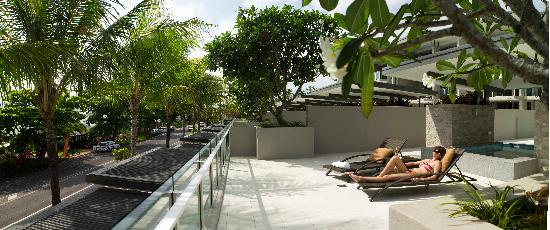 Coconut Grove Apartments: Terrace Pool Apartment