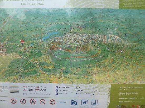 Provence-Alpes-Cote d'Azur, France: Karte