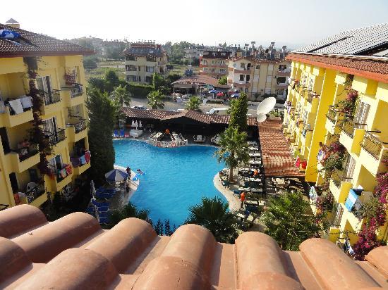 Sun City Apartments & Hotel: Refreshment area