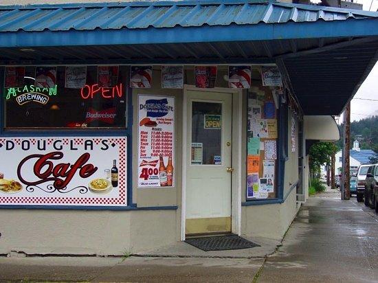 Douglas Cafe Alaska Menu