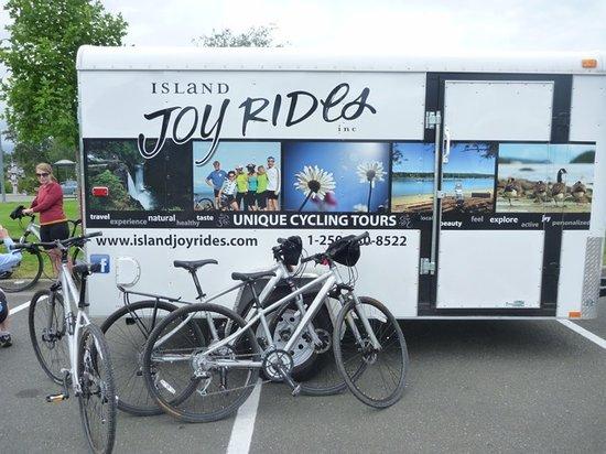 Island Joy Rides: Our Bikes
