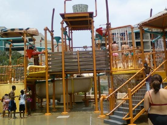 Sand Dunes Resort Spa Just A Small Section Of The Waterpark Fun For