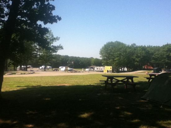 Campground picture of bayley 39 s camping resort scarborough tripadvisor for Scarborough campsites with swimming pool