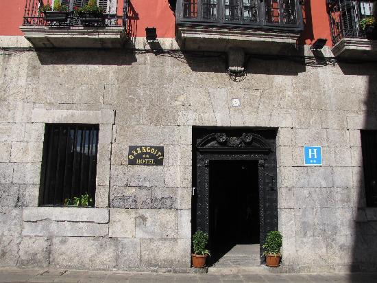Hotel Palacio Oxangoiti : Hotel entrance