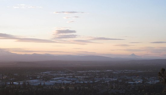 Bend, Oregón: Pilot Butte Sunset