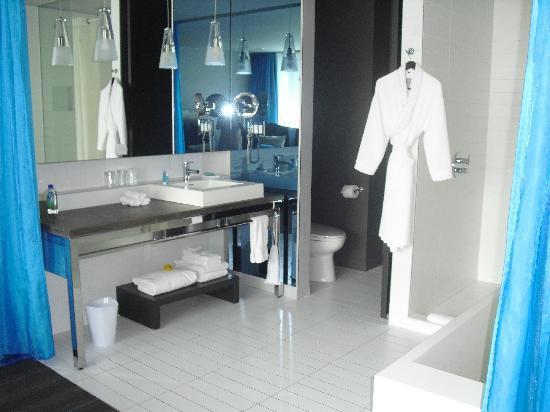 W Montreal Bathroom
