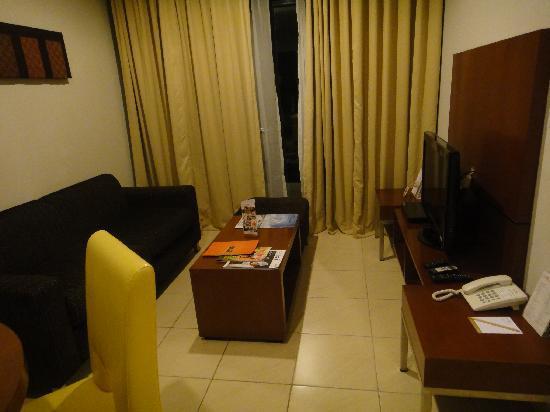 Grand Kuta: the living area