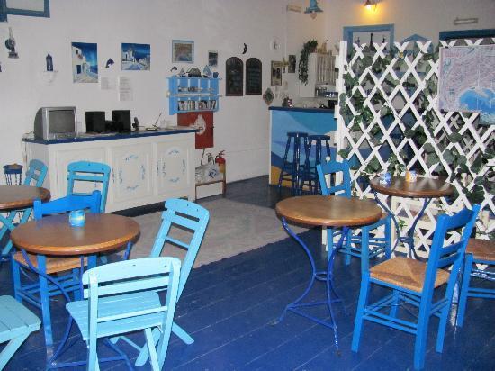 Hotel Isole: la salle du petit déjeuner / lobby