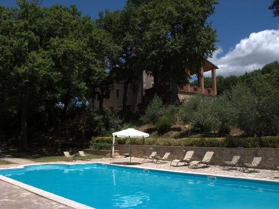 Villa Selva Country House: Struttura vista dalla psicina