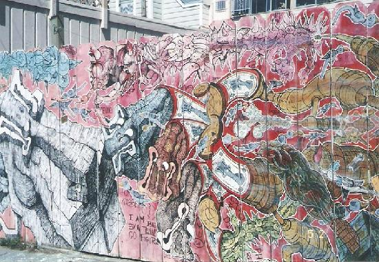 Mission Trail Mural Walks : ツアー中に見た壁画