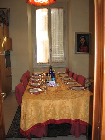 Residenza Vespucci: breakfast area