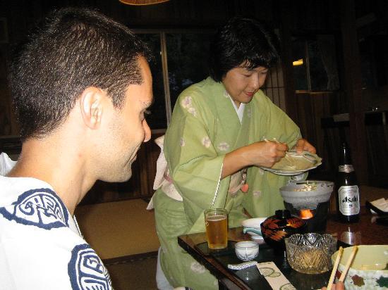 Yutouya Ryokan: cena deliziosa, personale premuroso