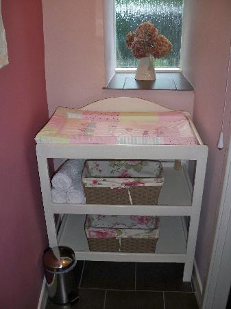 Sweetapples Teashop: Sweetapples Baby Changing Facilities