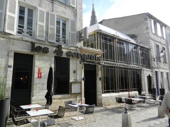 Les 4 sergents la rochelle restaurant reviews phone number photos tripadvisor - Cuisine sur mesure la rochelle ...