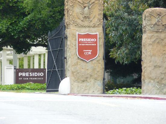 Travelodge at the Presidio San Francisco: Gleich nebenan Park Presidio