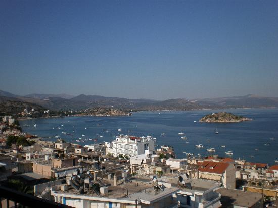 Tolon, Grecia: La baie vue de notre chambre