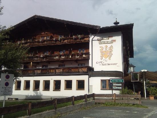 Нидерау, Австрия: Das Hotel von Aussen