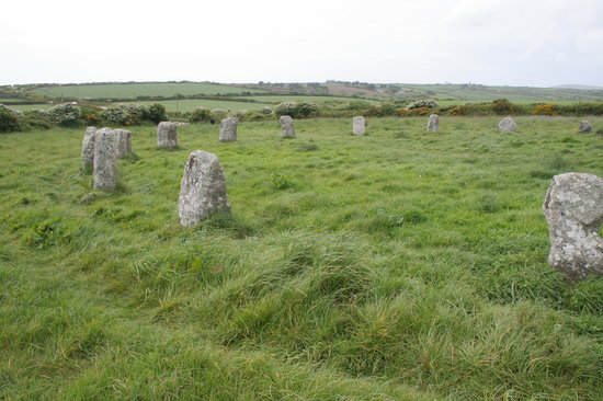 Lamorna, UK: Part of the Merry Maidens stone circle