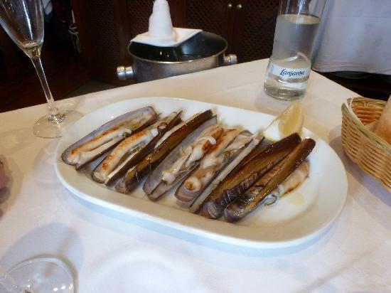 Cafe Balear : Navajas a la plancha