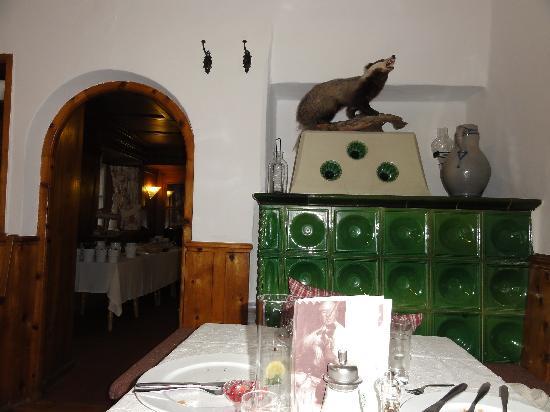 Familien-Landhotel Stern: Unser Tisch für das Nachtessen