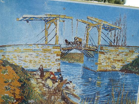 Pont Van-Gogh (Pont de Langlois): the Painting