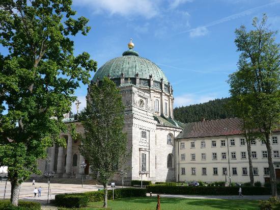 Sankt Blasien, ألمانيا: Blick von der Dachterasse