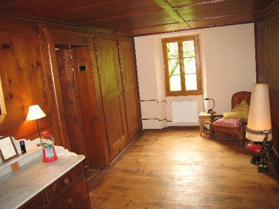 B&B Heidi's Guesthouse : sas d'entrée au chambre