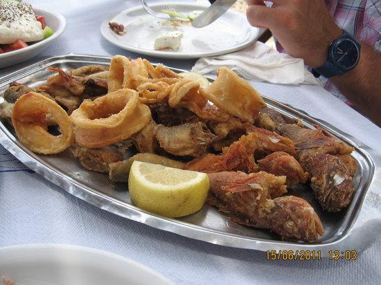 Taverna Giorgaros: frittura mista per due