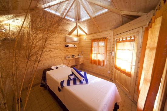Paradiso Spa : Single Treatment cabin inside
