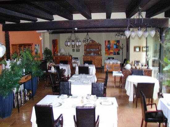 La Fresneda, España: Comedor