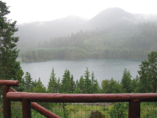 Double Diamond Lodge Bed and Breakfast: View from the house